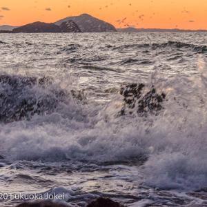 糸島半島の冬 海の風景 その2