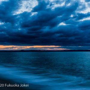 糸島 雲のある海の風景