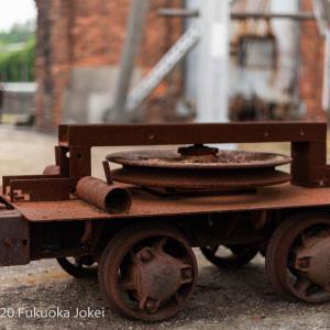 三池炭鉱 ノスタルジックな宮原坑跡 錆びていく貨車のある風景 その2