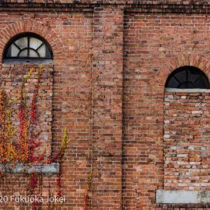 三池炭鉱 ノスタルジックな宮原坑跡 たたずむ煉瓦の建物