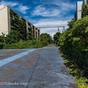 長崎県池島 廃墟化進行中の旧炭鉱の島 4 炭鉱住宅跡