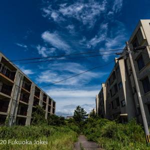 長崎県池島 廃墟化進行中の旧炭鉱の島 5 炭鉱住宅跡