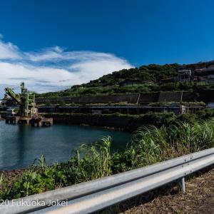 長崎県池島 廃墟化進行中の旧炭鉱の島 7 港周辺