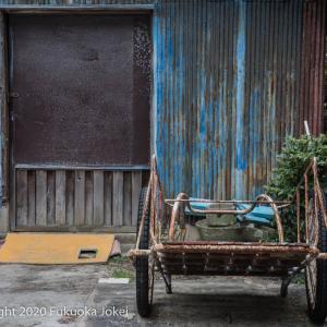 糸島半島 加布里漁港 漁村の風景