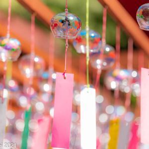 おでかけ所 インスタ映えスポットの風鈴 糟屋郡篠栗町 山王寺 2021年8月