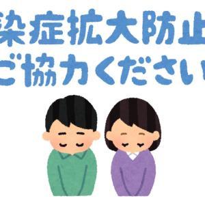 大阪府の自粛要請について