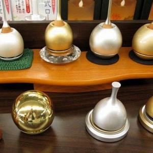 埼玉県ふじみ野市の仏壇店 仏壇のあすかの店長の日記 「仏具でも色々な種類のおりんがあります」