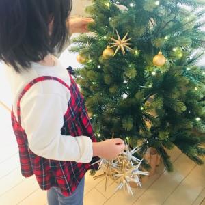 クリスマスツリーの片付け*IKEAとダイソーグッズを使って。