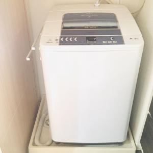 【洗濯機下の掃除】休日の過ごし方
