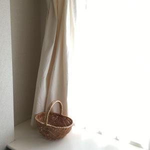 【無印】カーテンを春夏用にチェンジ!IKEAのお気に入りフレーム