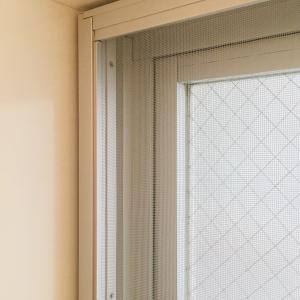 浴室の窓と網戸掃除^^