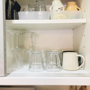 【食器棚】コップ・グラス類の整理整頓