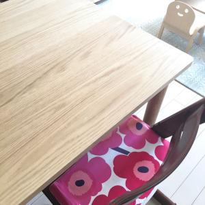 unicoのダイニングテーブルが届きましたーーヾ(*´∀`*)ノ♪