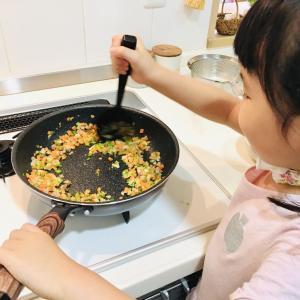子どもと一緒に作る幼稚園のお弁当♪