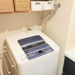 洗濯機の排水口と排水ホースの掃除でスッキリ!