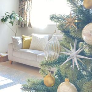 クリスマスツリーを飾りました*