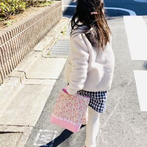 入学準備にワクワク〜♪&新一年生保護者会