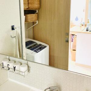 洗面台の掃除をラクにする仕組み作り!!その② 鏡の掃除にはこのスポンジが便利!