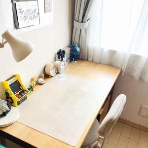 息子の部屋をお片付け!【無印良品】机まわりの愛用品 & IKEAのホワイトボードのビフォーアフター