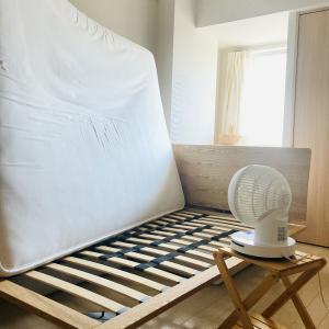 無印のダブルベッドと、息子のロフトベッドをリセット!!
