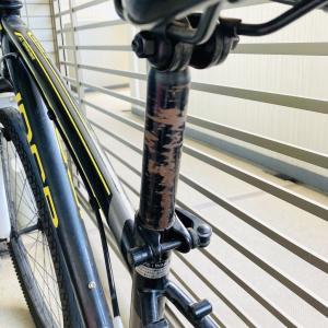 自転車のサビをメンテナンス。ビフォーアフター!!