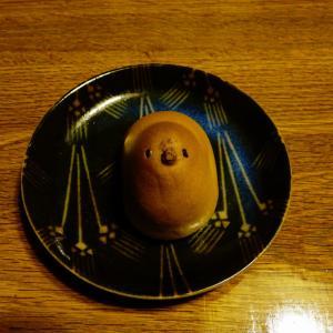 ★「東京・お芋ひよ子」をスプーンでチビチビ崩しながら