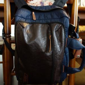 ★ベネトン3WAYバッグを背負って朝食を!