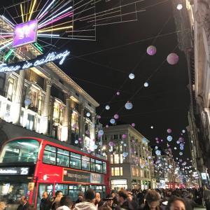 ロンドン大好き特にホリデーシーズン