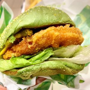 德克士DICOSで植物肉バーガーを食べる
