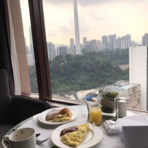 2020年1月KL「シェラトン・インペリアル」ラウンジでの朝食とお部屋の紹介編