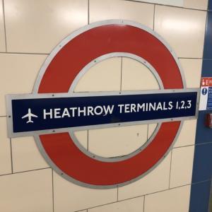 ロンドン市内からパリへ-2 = ロンドン市内観光と地下鉄 =
