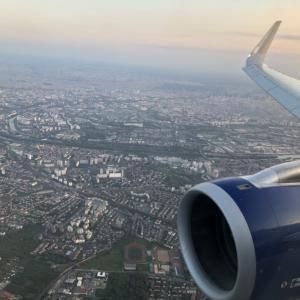 ロンドン市内からパリへ-3 = 帰り便はビジネスクラス =