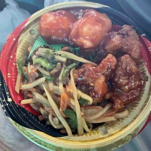 中華彩り丼