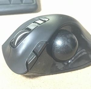 トラックボールマウス・・・