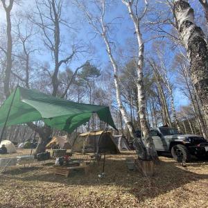 2021.04.24-25 ホワイトバーチキャンプフィールドで春の白樺キャンプ