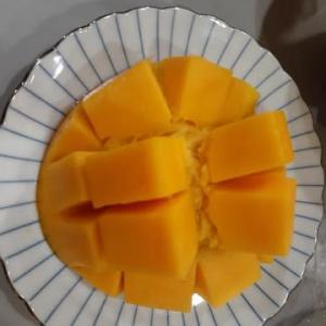 完熟マンゴー美味しかった!