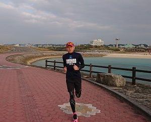 『冬のRUN合宿 in 沖縄』2日目のトレーニング、おまけ