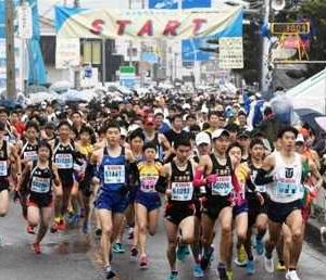 来春のマラソン大会中止相次ぐ