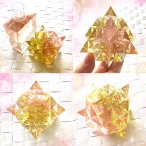 64テトラヒドロンのオルゴナイト 〜宇宙意識とつながるカタチ〜