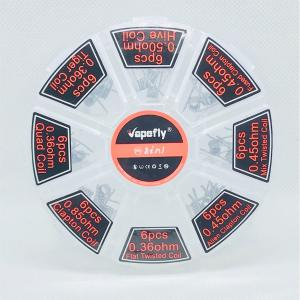 Vapefly 8 In 1 Coils 48pcs レビュー