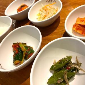 韓国料理店へ