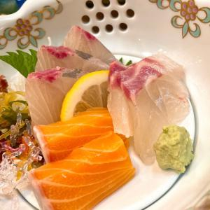 和食店で鰻など堪能