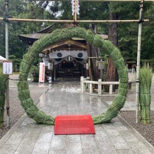 浄化の雨と夏越しの大祓