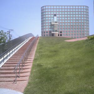 福生市役所はピンクのかわいい市庁舎建築だった【東京福生】