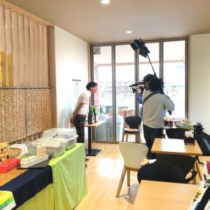 今日は福島の情報番組『ヨジデス』で青空バルが紹介されるよ
