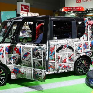 大阪オートメッセで車の写真も撮ってきた