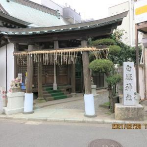 白姫神社に現れたアマビエ