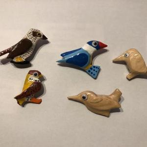 鳥さんのブローチ Part2