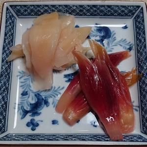 ミョウガと新生姜の甘酢漬け