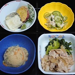 豚肉と玉ネギの甘辛煮、他の弁当